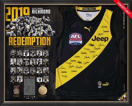 Nat Fyfe Signed 2019 Brownlow Medal Guernsey