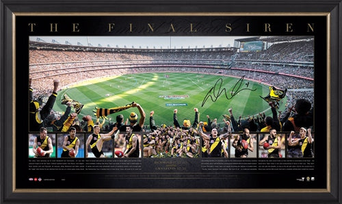 Richmond 2019 Premiers Signed Panoramic – EAT EM ALIVE