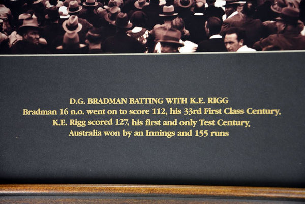 SCG Panoramic Don Bradman 1931