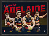 SONS OF ADELAIDE - PLAYER POSTER FRAMED