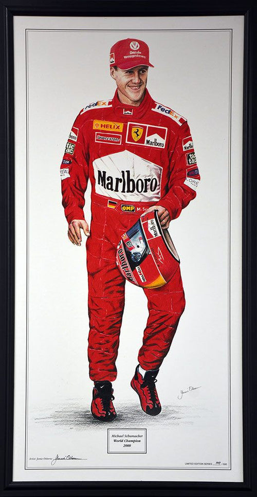 Michael Schumacher 2000 World Champion