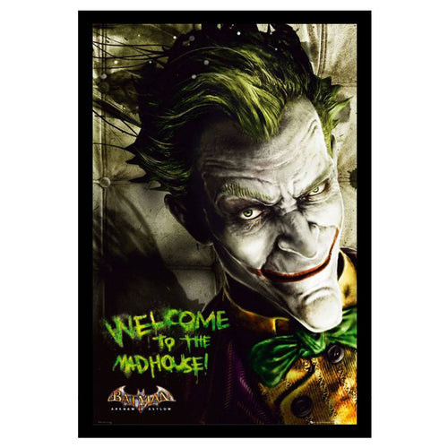 The Joker Arkham Mad House