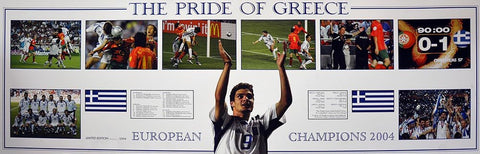 Pride Of Greece European Champions Print