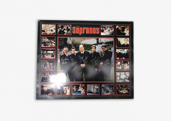 The Sopranos Signed Poster