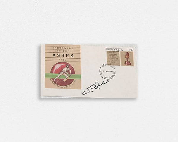 Australian Test Cricketer Envelope SIGNED - Tony DODEMAIDE