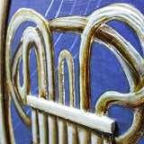 3D Trombone Framed Canvas