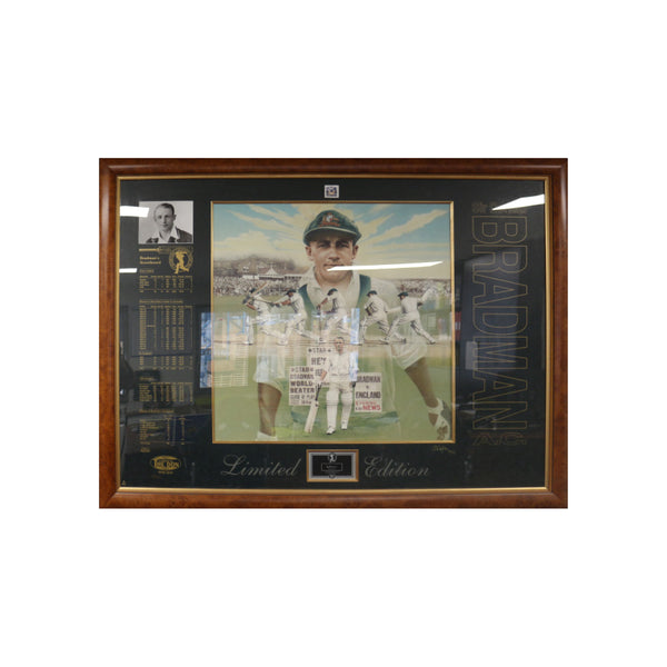 Limited Edition Sir Donald Bradman