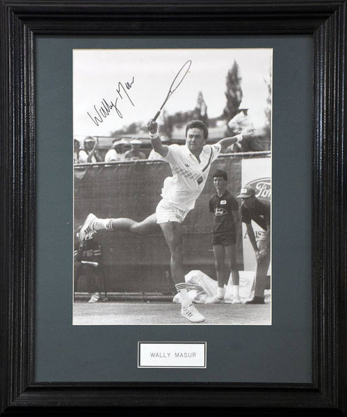 Wally Masur Signed Photo