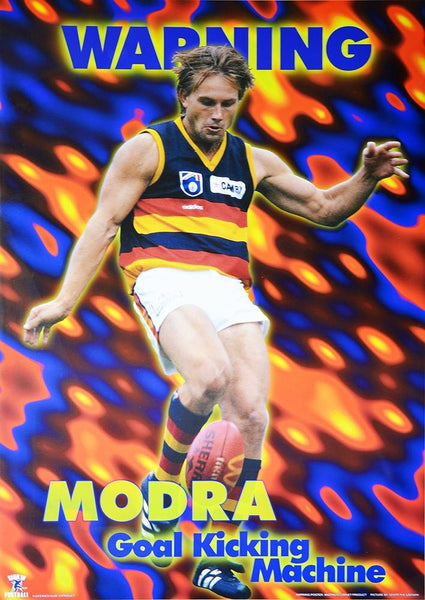 Tony Modra Warning Poster