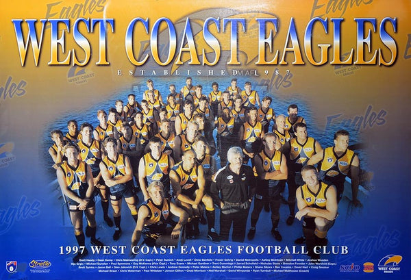 West Coast 1997 Team Poster