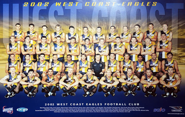 West Coast 2002 Team Poster
