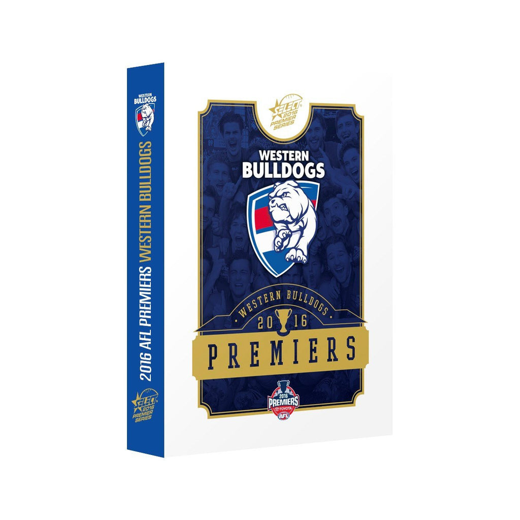 Western Bulldogs 2016 Premiers Limited Edition Select Card Set