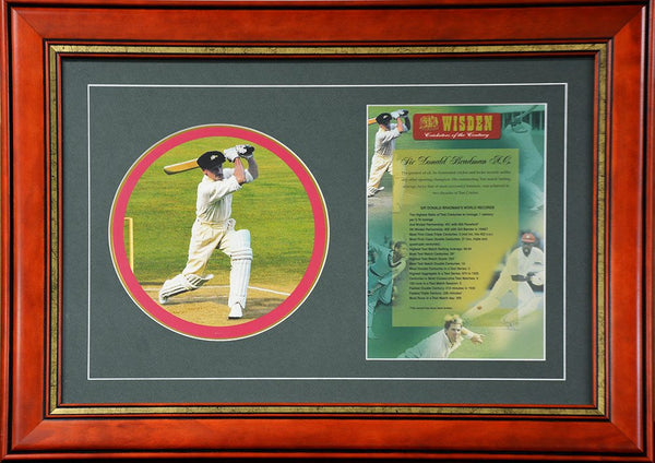Wisden Cricketers Of The Century Don Bradman