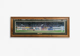 'Come in Spinner!' 4th test; Sabina Park, Jamaica 1995, Framed