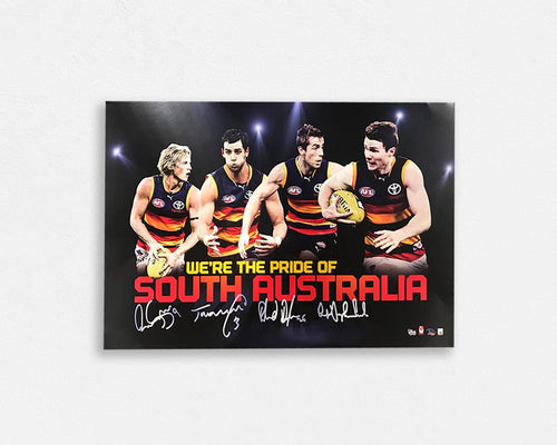 Adelaide Crows 'Pride of South Australia Signed Poster