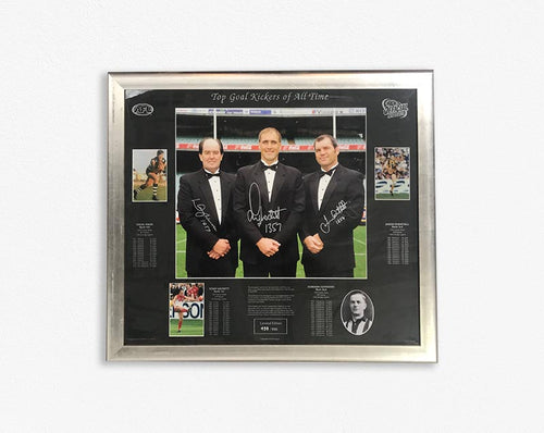 AFL-BEST OF ALL TIME GOAL SCORERS- SIGNED- FRAMED