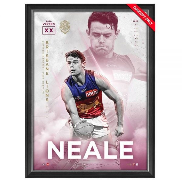 LACHIE NEALE 2020 BROWNLOW MEDAL SPORTSPRINT