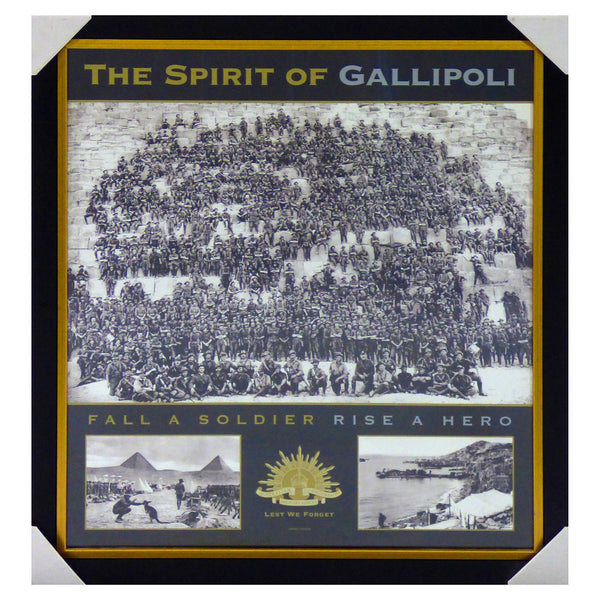 ANZAC-The Spirit of Gallipoli - Fall a Soldier, Rise a Hero