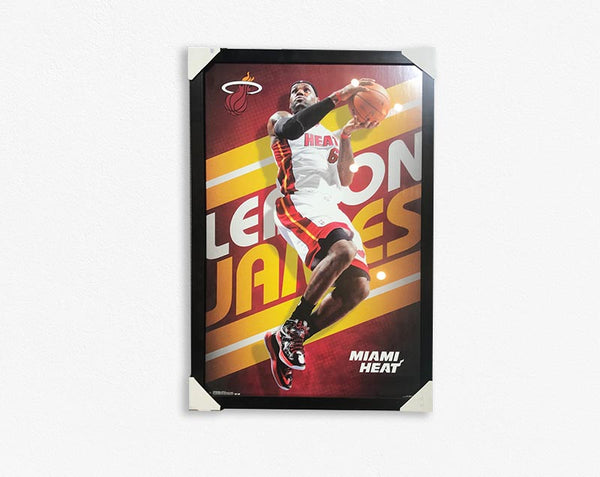 LEBRON JAMES/FRAMED