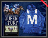 WINX-QUEEN OF THE TURF – DUAL SIGNED FRAMED WINX MID SILKS FRAMED
