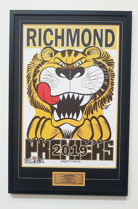 Richmond 2019 Premiers Team Signed Guernsey - REDEMPTION