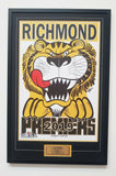 Richmond Premiers 2019 Weg poster framed