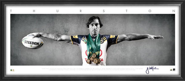 Johnathan Thurston Mini Wings Cowboys FRAMED