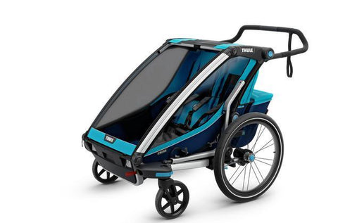 Chariot Cross 2 + Cycle/Stroll - Thule Blue