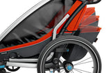 Thule Chariot Cross 2 + Cycle/Stroll - Roarange