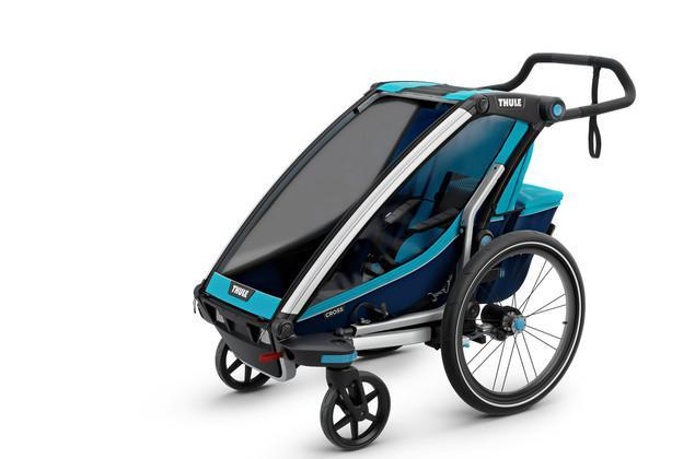 Chariot Cross 1 + Cycle/Stroll - Thule Blue