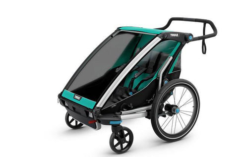 Thule Chariot Lite 2 + Cycle/Stroll - Bluegrass