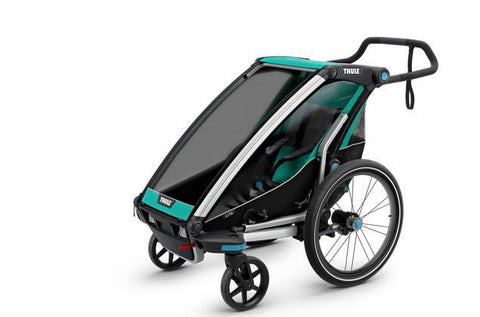 Thule Chariot Lite 1 + Cycle/Stroll - Bluegrass