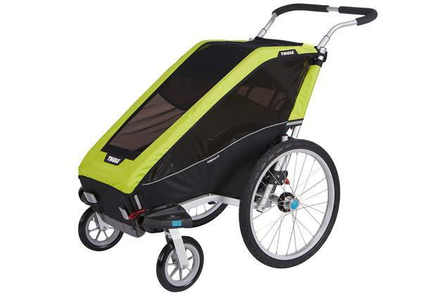 Thule Chariot Cheetah XT 1 + Cycle/Stroll - Chartreuse