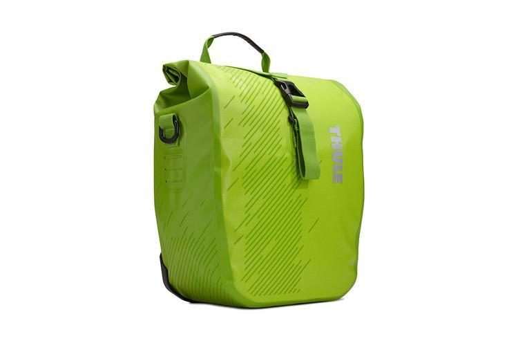 Pack n Pedal Shield Pannier Small - Chartreuse