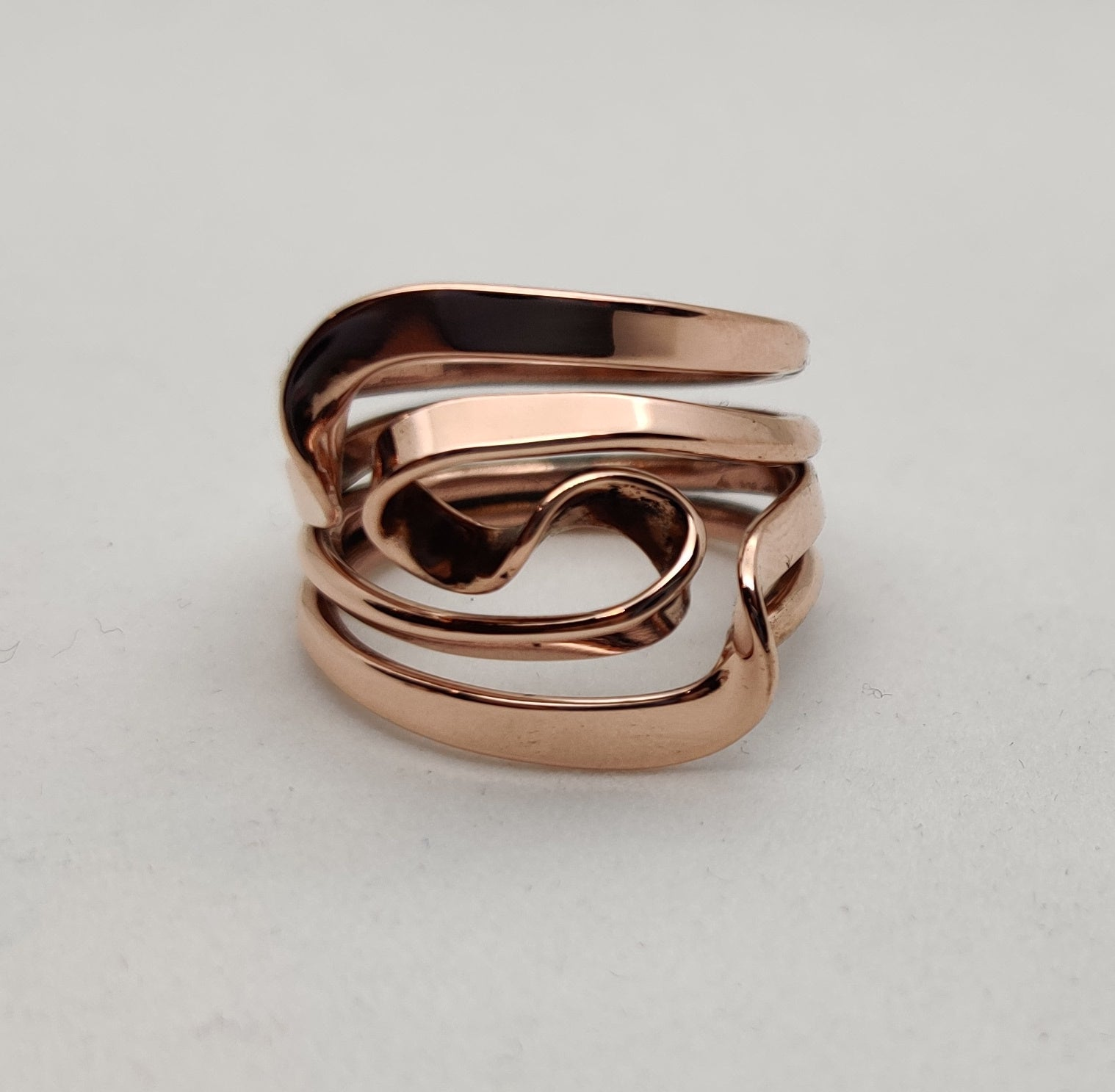 Four Turn Vortex Energy Ring™ In Pure Copper