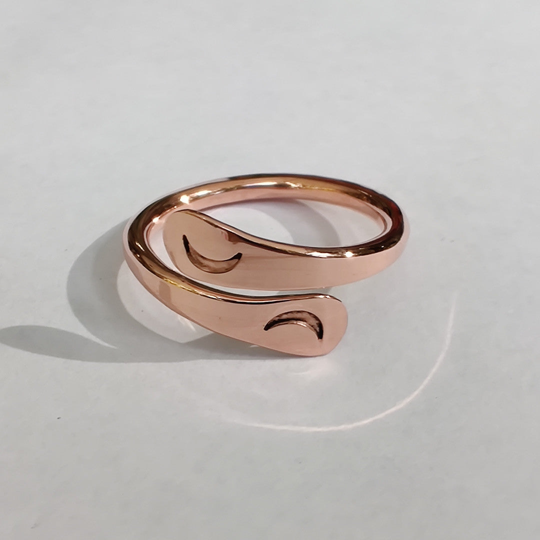 Limited Edition Blue Moon Energy Rings™- Fifth Edition October 31, 2020 Copper