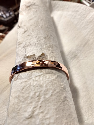 Pure Copper Half Way Waves in a  Band