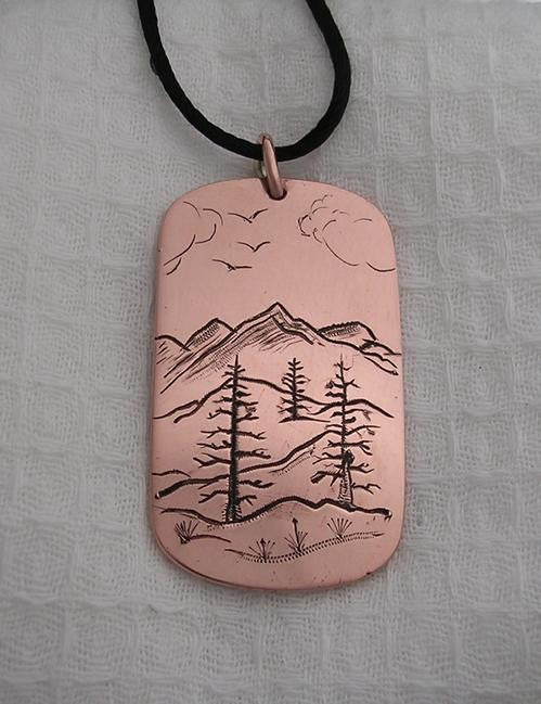 Copper Mountain Pendant