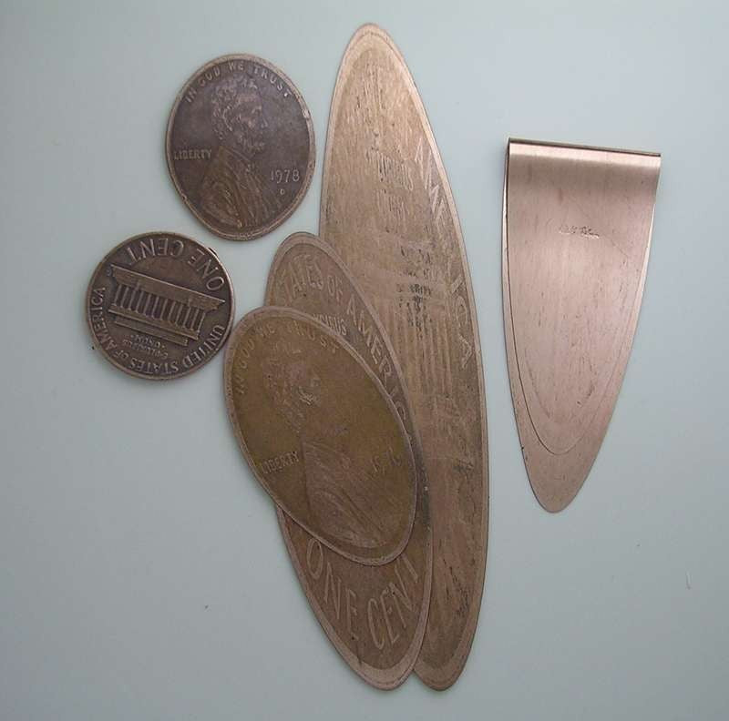 Set of 3 Penny Book Markers