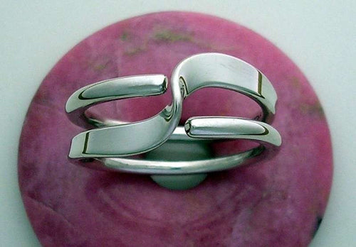 2 Turn Wave Energy Ring™ in Sterling Silver