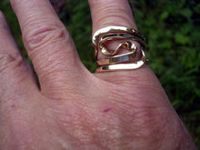 14K Gold Four Turn Vortex Energy Ring™  .