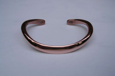Sterling Silver Classic Bracelet Hand Forged in 6 Gauge