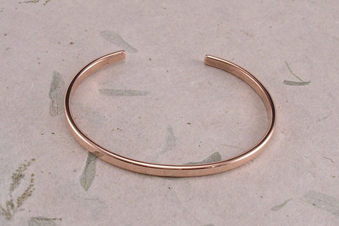 Tesla Inspired Silver, 14k Yellow Gold and Copper Vortex Energy Ring™.