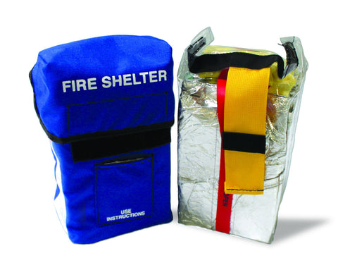 Regular fire shelter