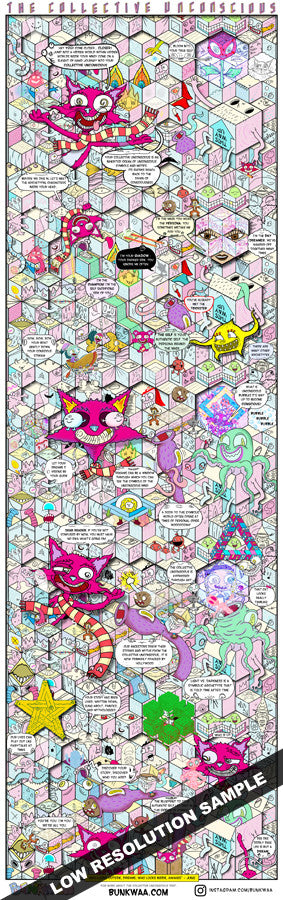 The Cartoon Collective Unconscious Poster