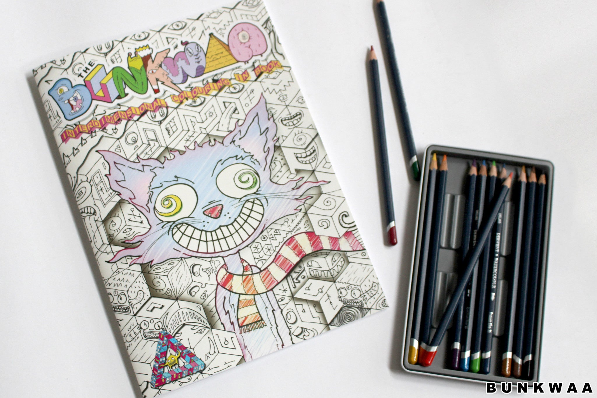 BUNKWAA inter-dimensional Colouring book