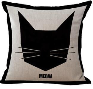 Meow Cushion Cover