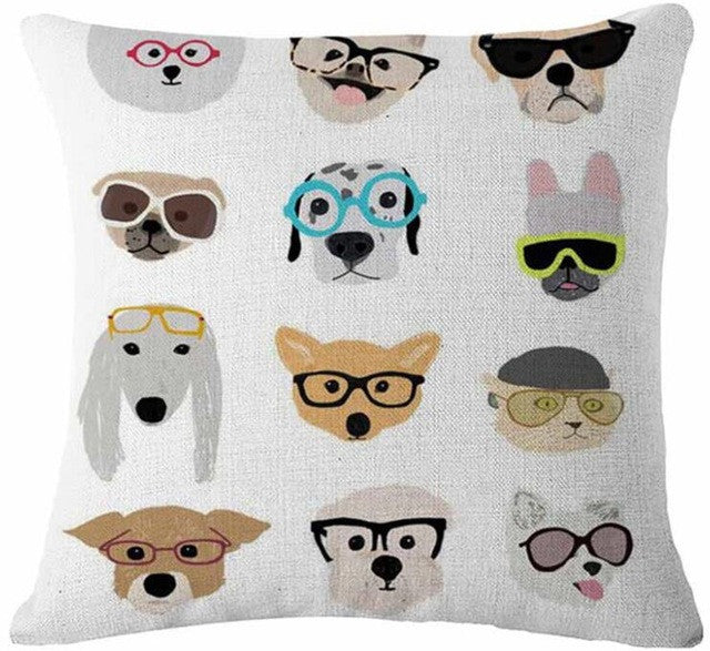 Specky Pooches Cushion Cover