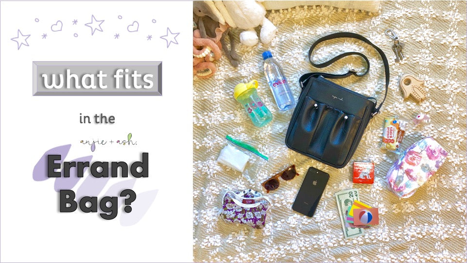 what fits in the crossbody parent bag?