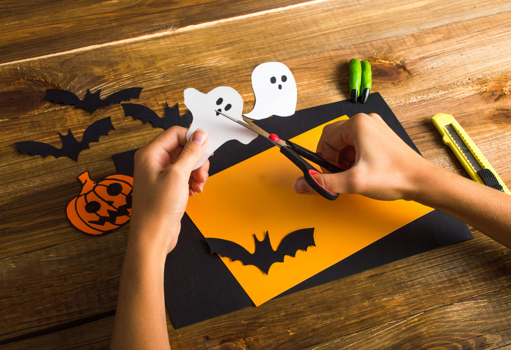 how to get crafty with your kids for halloween